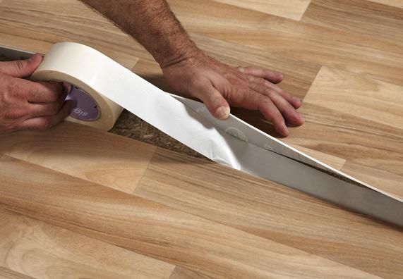 Укладка линолеума своими руками фото на деревянный